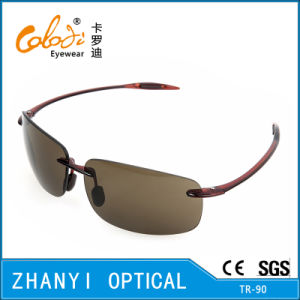 Fashion Tr90 Sunglasses for Driving with Nylon Lense (S2082-C2)