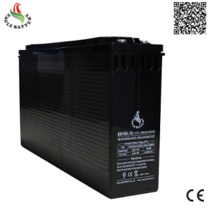 Front Terminal 12V 150ah AGM Maintenance Free Solar Storage Battery
