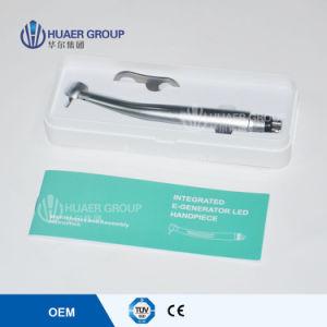 Dentist Equipment Push Button High Speed Handpiece LED E-Generator Handpiece pictures & photos