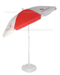 Personalized Beach Umbrella/ Outdoor Umbrella with UV Protection Windproof pictures & photos