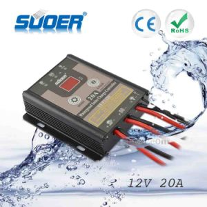 Suoer Waterproof Solar Charge Controller 20A PWM Solar Controller (ST-F1220) pictures & photos