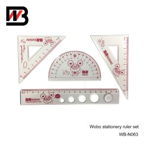 Stationery Plastic Ruler for Office and School Use pictures & photos