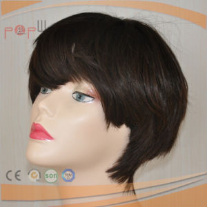 Very Populor Super Short Hair Wig Synthetic Women Wig pictures & photos