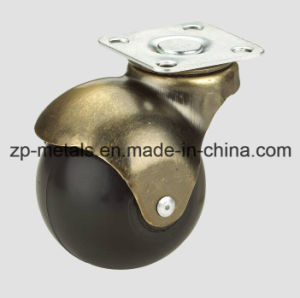 1.5inch Rubber/PVC Swivel Ball Caster Wheel pictures & photos