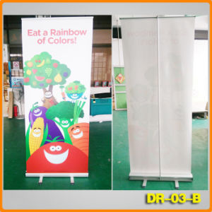 80*200cm Retractable Banner Stand (DR-03-B) pictures & photos