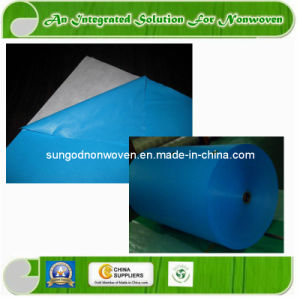 Laminated Non-Woven Fabric with PE Film pictures & photos