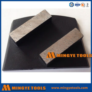 2 Rectangle Diamond Segment Trapezoid Grinding Shoes pictures & photos