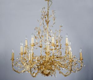 Countryside Style Decorative Crystal White Finishing Ceiling Lamp pictures & photos