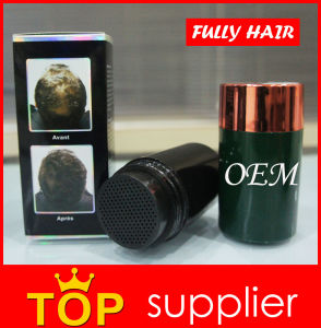 Black Fully Keratin Hair Building Fibers to Volume Thinning Hair pictures & photos