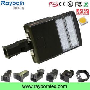 6500k Daylight Motion Sensor Parking Lot LED Shoebox Lighting 100W pictures & photos