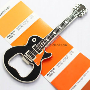 Custom Zinc Alloy Nice Silver Guitar Beer Bottle Opener pictures & photos