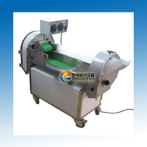 FC-301d Multifunction Vegetable Cutting Machine, Double Heads Vegetable Cutting Machine pictures & photos