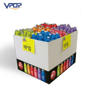 High Capacity Cardboard Pallet Display Box for Drinks pictures & photos
