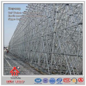 Hot DIP Galvanized Ringlock Scaffolding Tower Erected for Inspection pictures & photos