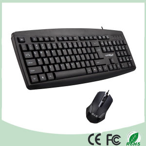 Promotional Ultra Slim Wireless Keyboard and Mouse Combo Set (KB-8100) pictures & photos