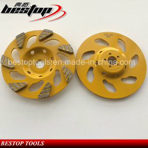 "Hot Sales 5"" Diamond Cup Wheel for Concrete pictures & photos"