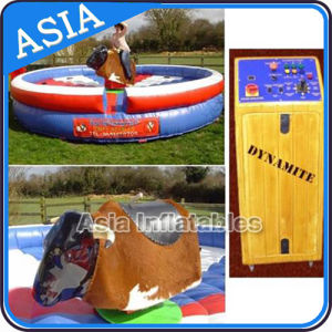 Inflatable Mechanical Rodeo Bull Rides for Amusement Park pictures & photos