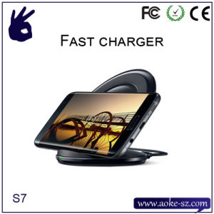 Qi Wireless Charging Pad for Galaxy Note 5, S6 Edge+/S6/S6 Edge, Nexus 4/5/6, Nokia Lumia 950XL/950 pictures & photos