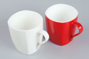 Wholesale Cheap Small White Square Coffee Mug pictures & photos