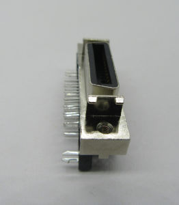 Hpcn SCSI Connector, Female, Right Angle, 26p, with Zinc Alloy Shell pictures & photos