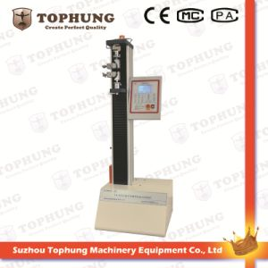 Digital Display Electronic Universal Testing Machine Fabric Tensile Strength Test Machine Leather Tensile Test Machine (TH-8202A) pictures & photos