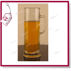 Multipurpose with Handle Straight High-Capacity Beer Juice Glass Cup pictures & photos
