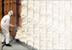 Fiberglass Spraying Foam for Wall Insulation pictures & photos