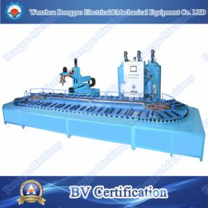 PLC Intelligent PU Safety Shoe Sandal Making Machine pictures & photos