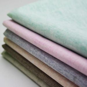 Plain Dyed Rayon Linen Woven Fabric for Shirt