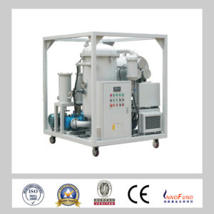 Petroleum Industry High Precision Vacuum System Remove Water Content Hydraulic Oil Filtration Machine /Engine Oil Purification Equipment (ZRG) pictures & photos