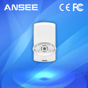 Wireless PIR Sensor Detector, Interconnectable with IP Camera for Alarm System pictures & photos