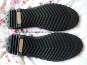 Men Leisure Sole Walking Sole Working Sole Driver Sole Leather Shoes Sole (YXX08) pictures & photos