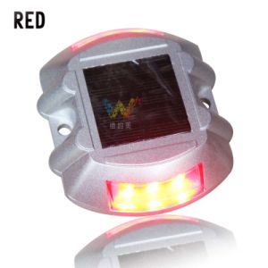 Red Flashing Warning Light Solar Garden Light LED Road Stud pictures & photos