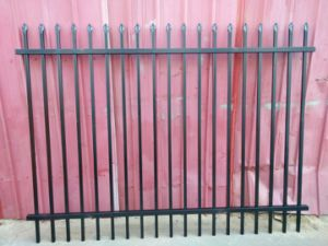 Powder Coated Garden Fence pictures & photos