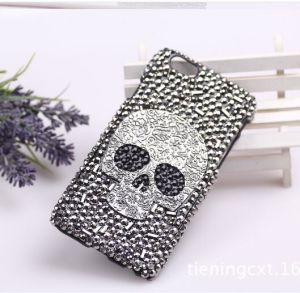 Luxury Metal Skeleton Diamond Phone Case for Apple iPhone 4S 4 5 5s 5c 6 6 Plus Back Cover pictures & photos