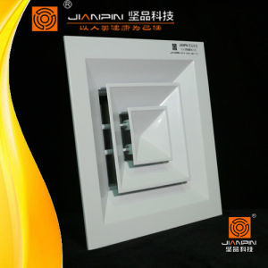 Air Conditioning Square Ceiling Diffuser Decorative Motorized pictures & photos