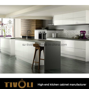 Germany Style Veneer Modern Kitchen Cabinet and Kitchen Furniture (AP132) pictures & photos