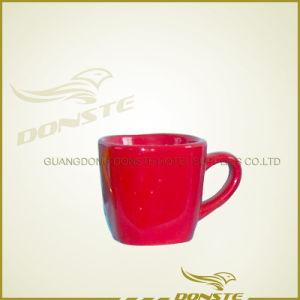 Ce, FDA, LFGB, SGS, Glazing Ceramic Mug with Bark Desig pictures & photos