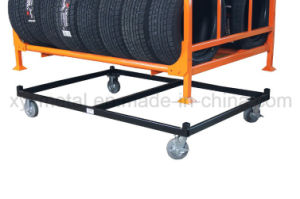 Steel Roll Pallet Dolly for Tire Rack Stillage pictures & photos