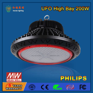 SMD2835/3030 110-130lm/W 200W Industrial LED High Bay Light pictures & photos