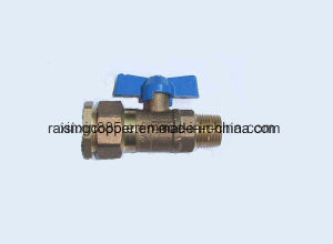 Bronze Ball Valve with Butterfly Handle (ITCR002) pictures & photos