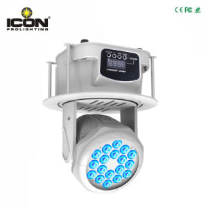 18PCS RGB Wash LED Moving Head for Stage with Ce pictures & photos