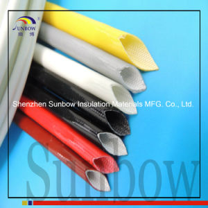 Sunbow Silicone Rubber Coated High Temperature Fiberglass Sleeve pictures & photos