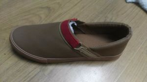 Canvas Flat Rubber Sole Casual Hot Love pictures & photos