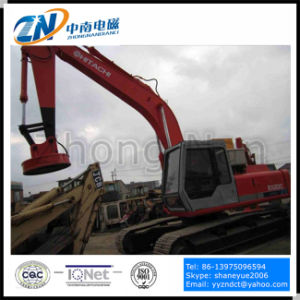 Scrap Yard Suiting 75% Duty Cycle Electromagnetic Lifter for Excavator Installation Emw-70L/1-75 pictures & photos