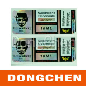 Testosterone Injection Hologram Vial Label pictures & photos