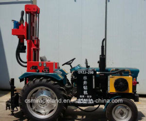 200m Tractor Drive DTH Water Well Drilling Rig (QYZJ-200) pictures & photos