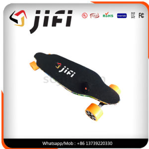 Dual Hub Motor 4 Wheels Electric Skateboard with Remote Control Hoverboard Electric Skateboard pictures & photos