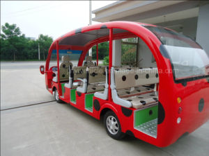 Beetle Shape Electric Tourism Car with 14 Passengers in Changzhou pictures & photos