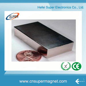 2016 Newest N38 Block Shape Neodymium Magnets pictures & photos